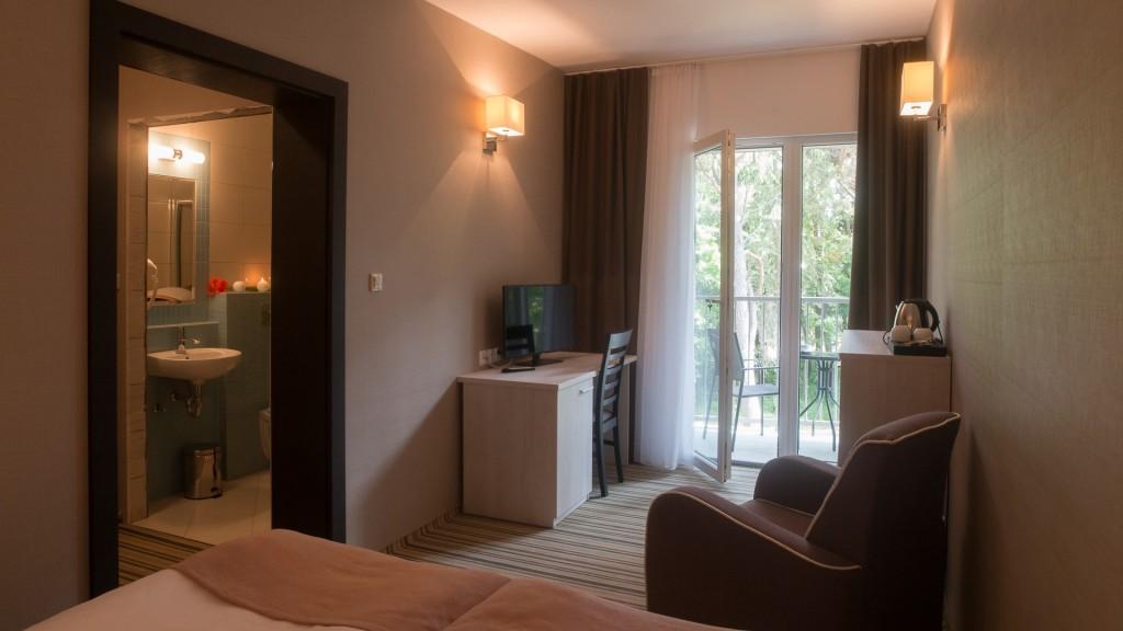 Apartament w Waterside - pokój sypialnia