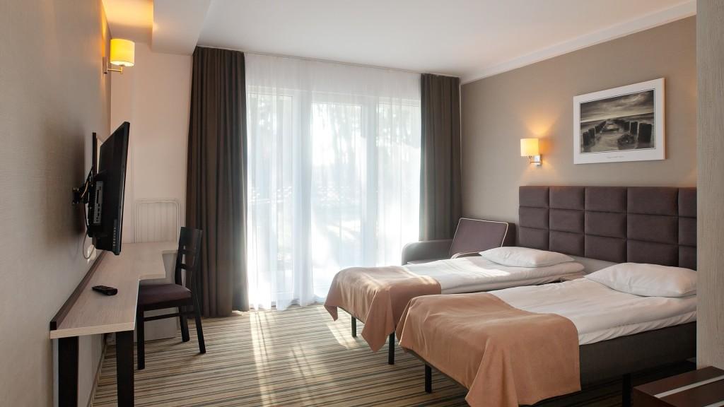 Pokoje hotelowe nad morzem