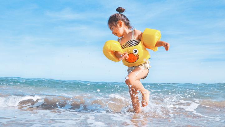 Wczasy z dzieckiem nad morzem