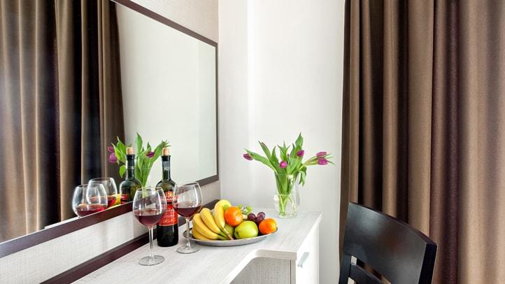 Waterside - pokoje klasy hotelowej